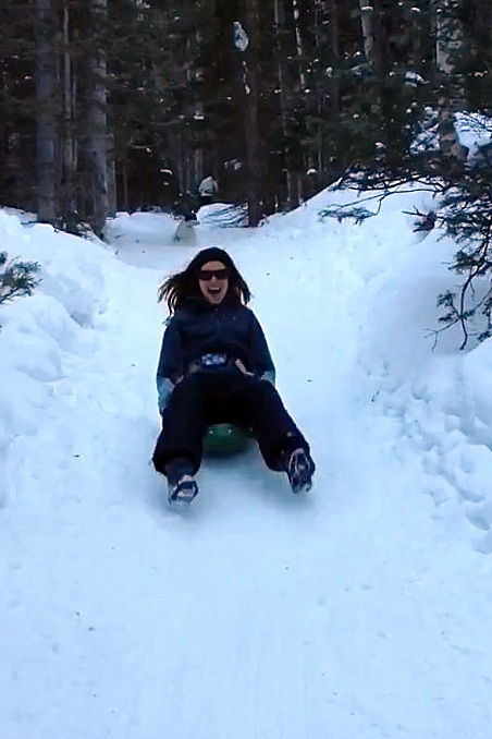 Play time on my Merikan Missile Sled.