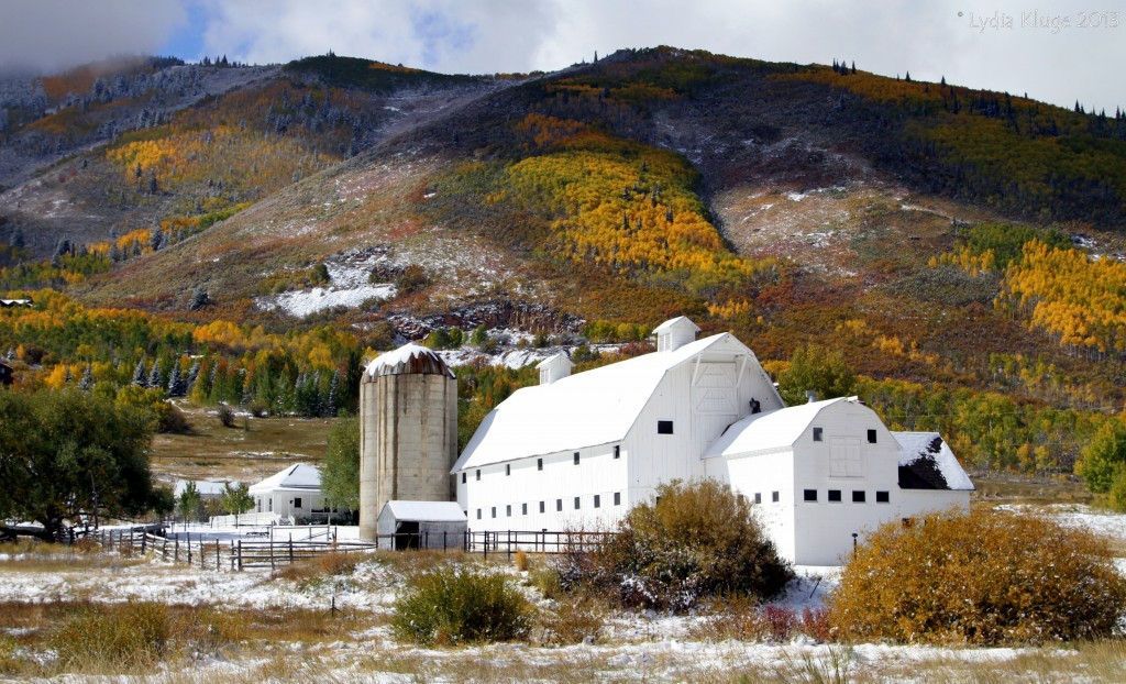 Park City's White Barn.