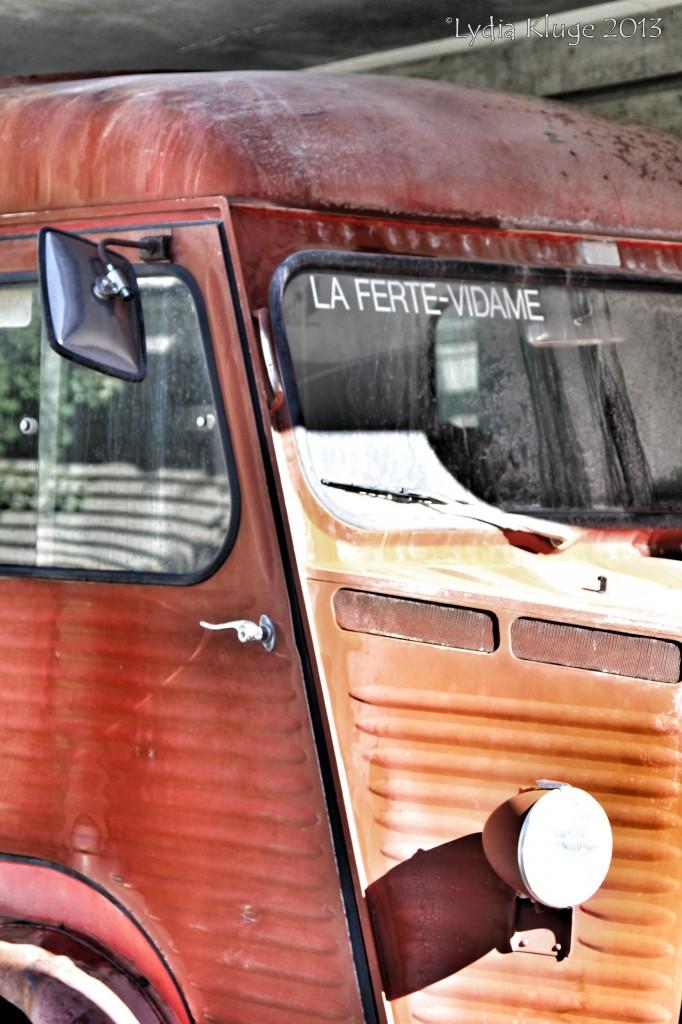 An old Citroen bus.